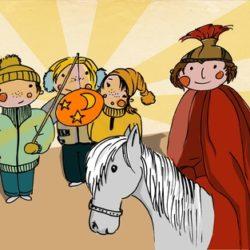 una celebración alemana, el día de San Martín