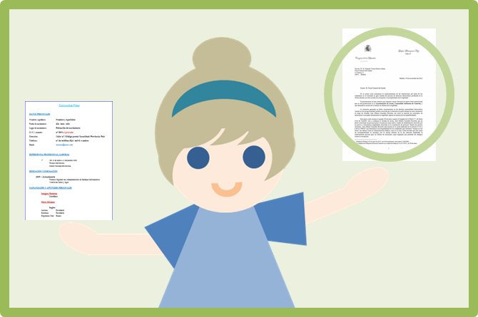 carta de solicitud curriculum