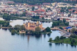 castillo de schwerin alemania naturaleza