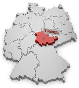 turingia centro alemania