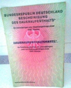documentos, Alemania, pasaporte