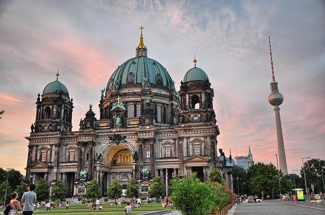Blick auf den Berliner Dom